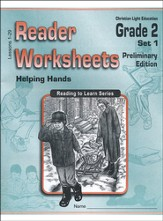 Helping Hands Worksheets, Grade 2 Set 1