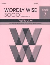 Wordly Wise 3000 Book 7 Test 3rd Ed.