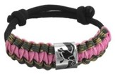 Duck Dynasty, Braided Survival Bracelet, Pink