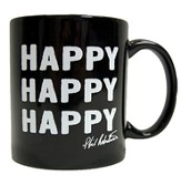 Duck Commander Signature Mug, Black, Happy Happy Duck Commander Series