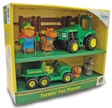 Farmin' Fun Playset, 8 piece