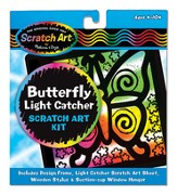 Scratch Art Butterfly