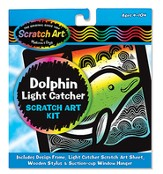 Scratch Art Dolphin