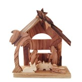 Table Top Nativity, with Arch Cutout