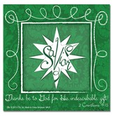 Celebrate the Gift of Jesus Easel Backed Magnet