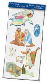 Good News Great Joy, Nativity Wall Stickers