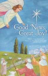 Good News Great Joy, Children's Newsprint Activity Book