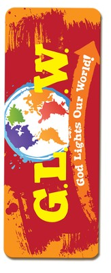 God Lights Our World Jumbo Bookmark