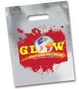 God Lights Our World Mylar Treat Sack Pack, 12