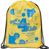 God's Promises for Kids Drawstring Backpack