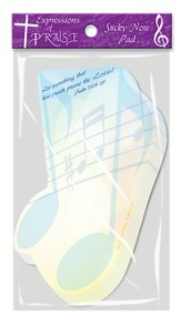 Expressions of Praise Sticky Note Pad Set