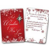 Wonders of His Love Pin on Card