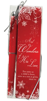 Wonders of His Love Pen and Bookmark Gift Set