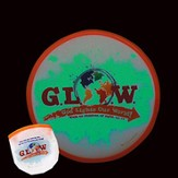 God Lights Our World, Glow In the Dark, Fying Disc with Pouch