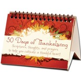 30 Days of ThanksLIVING Encouragement Flip Book