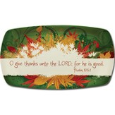 Give Thanks Melamine Tray