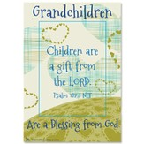 Grandchildren are a Gift from God Magnet Frame
