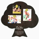 Personalized, Magnetic Photo Frame, Tree, As For Me And My House