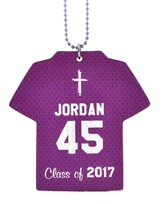 Personalized, Jersey Keychain, Graduation, Boy,
