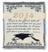 Class of 2014 Woven Throw