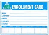 Enrollment Card, pack of 50