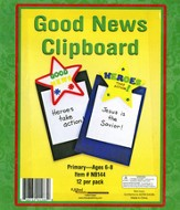 Good News--Clipboard Craft Kits, pack of 12