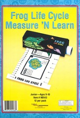 Frog Life Cycle Measure 'N Learn