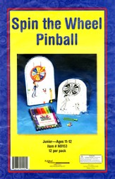 Spin the Wheel Pinball Machine Craft Kit, pack of 12