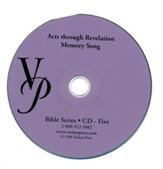 Acts-Revelation Memory Song CD