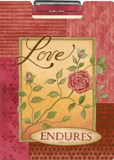 Love Endures, Portfolio Clipboard