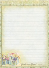 Flowers in Jar Portfolio Refill Pad