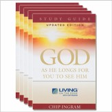 God as He Longs Journal-Study Guides 5 pack