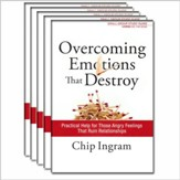 Overcoming Emotions that Destroy study guide 5 pack