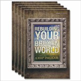 Rebuilding Your Broken World study guides 5 pack