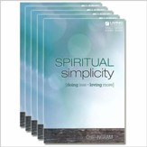 Spiritual Simplicity Study Guides 5 pack