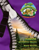 Camp Courageous VBS 2015: Junior Activity Pages with Stickers