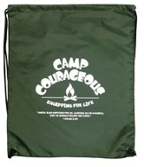 Nylon Drawstring Backpack Camp Courageous VBS 2015: Nylon Drawstring Backpack