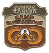 Camp Courageous VBS 2015: Pin