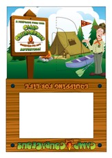 Camp Courageous VBS 2015: Photo Frames, pack of 12