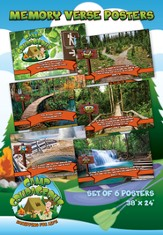 Camp Courageous VBS 2015: Memory Verse Posters, pack of 6