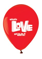 What's Love Got To Do With It? VBS 2015: Balloons, pack of 12