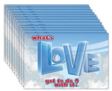 What's Love Got To Do With It? VBS 2015: VBS Sticker, pack of 50