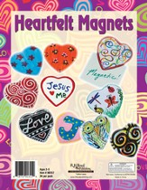 What's Love Got To Do With It? VBS 2015: Heartfelt Magnets Craft Kit, pack of 36