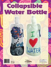 What's Love Got To Do With It? VBS 2015: Collapsible Water Bottle Craft Kit,