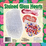 What's Love Got To Do With It? VBS 2015: Stained Glass Hearts, pack of 24