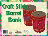 What's Love Got To Do With It? VBS 2015: Craft Stick Barrell Bank, pack of 25