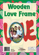 What's Love Got To Do With It? VBS 2015: Wooden Love Frame Craft Kit, pack of 12