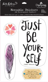 Be Yourself, Moveable Stickers