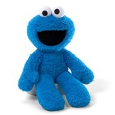 Cookie Monster Take Along Plush  - Slightly Imperfect