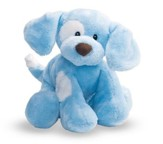 Spunky Dog Plush in Blue